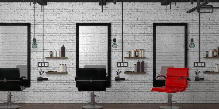 客がいない美容室